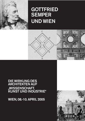 GOTTFRIED SEMPER UND WIEN - Forschungsnewsletter ...