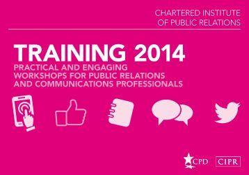 CIPR-Training-Brochure-2014