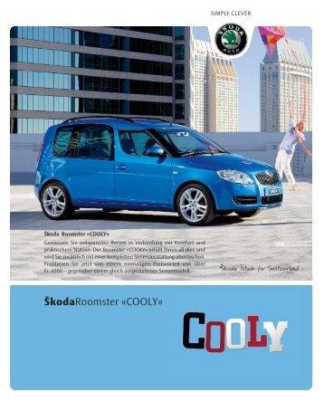 ŠkodaRoomster «COOLY» - sprüngli druck ag