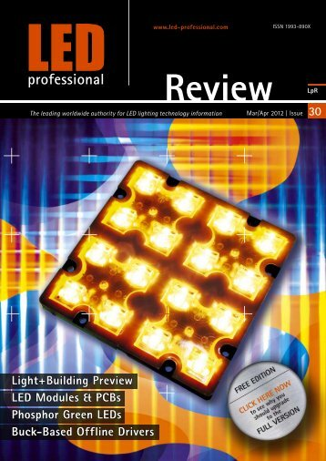 Light+Building Preview LED Modules & PCBs Phosphor ... - fonarevka