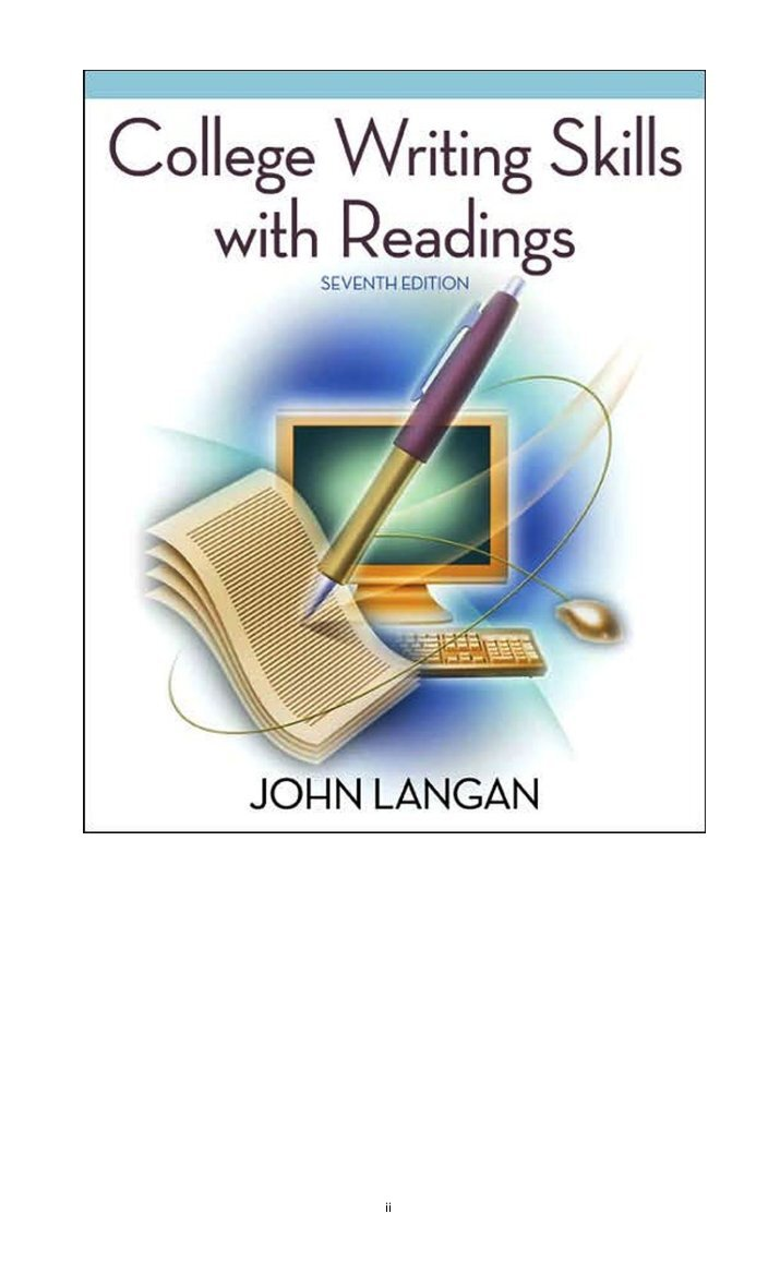 essay writing for students 3rd edition john langan Exploring writing: paragraphs and essays serves as a guidebook for every step of the writing course of emphasizing every course of and comply with, with a give consideration to revision, the model new second edition helps to make use of and advance writing experience using john langan's confirmed strategies.