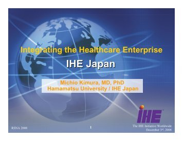 IHE Japan - HIMSS AsiaPac