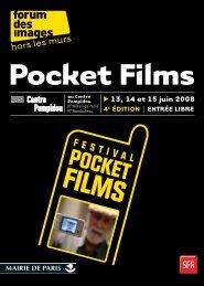 Catalogue Pocket Films 2008 - Quidam production
