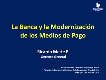 Presentación de PowerPoint - Universidad Andrés Bello