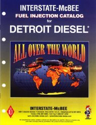 Detroit Diesel - Interstate McBee