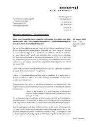 25. august 2003 J.nr.: 11-56 Eksp.nr.: 12645 DST Afgørelsen ...