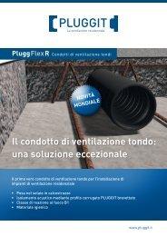 PluggFlex R Condotti di v entilazione t ondi Il - Pluggit