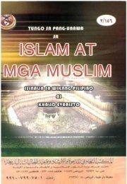 Page 1 Page 2 TUNGO SA PANG-UNAWA SA ISLAM at mga ...