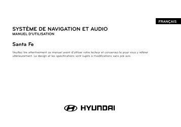 SYSTÈME DE NAVIGATION ET AUDIO Santa Fe - Navigation.com