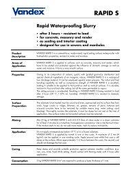 Vandex Rapid S - Safeguard Europe Ltd.