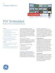 iFIX* Embedded - b+i automation
