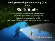 download it as a PDF - EDP with integrated TDP and Skills Audit
