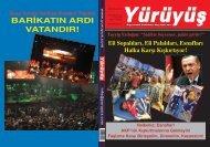 HALKIMIZ; ESNAFLAR! AKP'NİN KIŞKIRTMALARINA ... - Yürüyüş