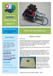 Newsletter Januar 2011 - Ipms-sg.ch