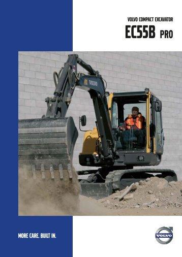 EC55B Pro - Volvo Construction Equipment