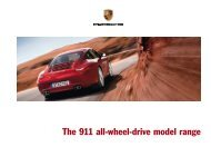 Porsche 2013 911 AWD Brochure - Niello.com Home
