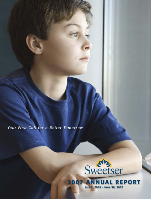 Annual Report 2006-2007 - Sweetser