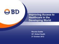 Improving Access to Healthcare in the Developing World