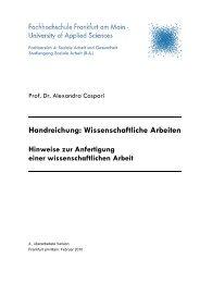 Handreichung: Wissenschaftliche Arbeiten - eLearning der FH ...