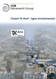 Tx Aria - CCB