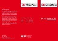MessePlaner MessePlaner - m+a Verlag GmbH