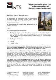 Wirtschaftsförderungs- und Tourismusgesellschaft Rottenburg am ...