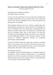 Rede von Martin Schulz - Bernd Lange