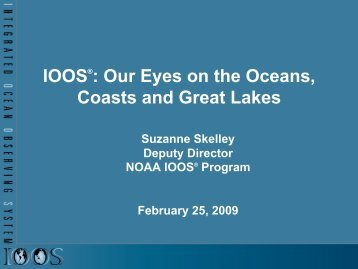 talk - Gulf of Mexico Coastal Ocean Observing System