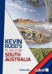 Federal Labor's Plan for South Australia