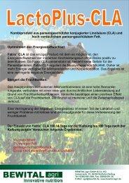 LactoPlus -CLA 2012.cdr - Bewital Agrar