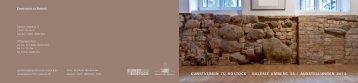 Jahresplan 2013 (PDF) - Kunstverein zu Rostock e.V.