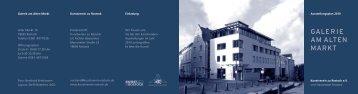 Jahresplan 2010:Layout 1 - Kunstverein zu Rostock e.V.