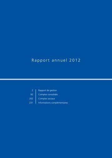 Rapport annuel 2012 - Dexia.com