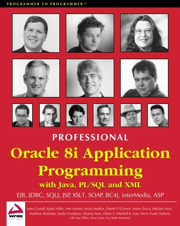 Oracle 8i Application Programming Oracle 8i Application Programming