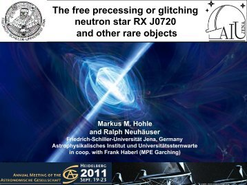 Is RX J0720 a free precessing or glitching neutron star?