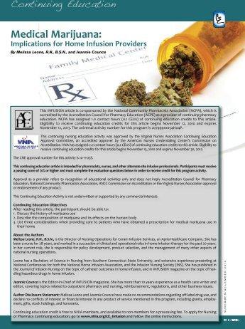 Medical Marijuana - NHIA