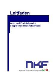 Leitfaden - Neues Kommunales Finanzmanagement