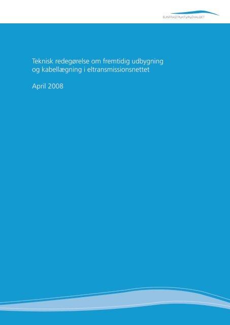 Elinfrastrukturrapporten - Energinet.dk