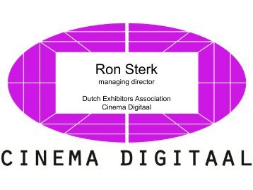 Ron Sterk - Europa Cinemas