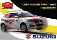 Reglamento Copa Swift 2013 - Suzuki