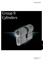 Group 9 - Cylinders - Assa Abloy