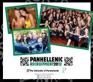 Panhellenic - University of Pennsylvania