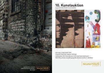 10. Kunstauktion - neunerHAUS
