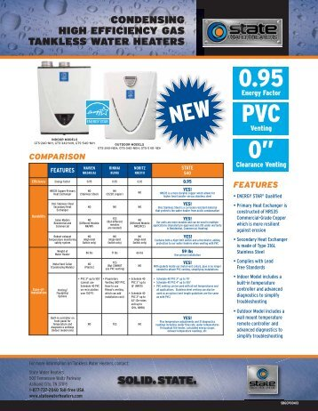 download Condensing ULN Sales Sheet - State Industries