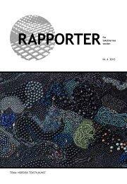 RAPPORTER fra - Dansk Tekstillaug