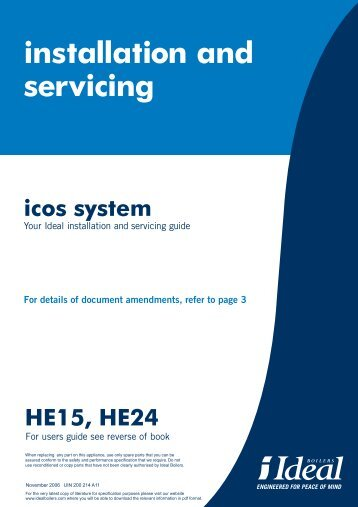 Icos System – Boilers - BHL.co.uk