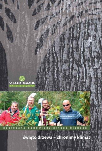 święto drzewa – chronimy klimat - Klub Gaja