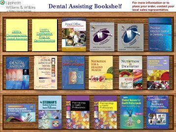 Dental Assisting Bookshelf - Lippincott Williams & Wilkins