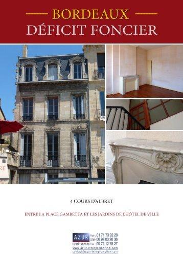 33 Bordeaux - Cours d'Albret - Azur InterPromotion
