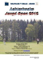 Nieuwsbrief Jeugdgolf 't Zelle 26 Juni 2009 - Golfclub Wasserburg ...